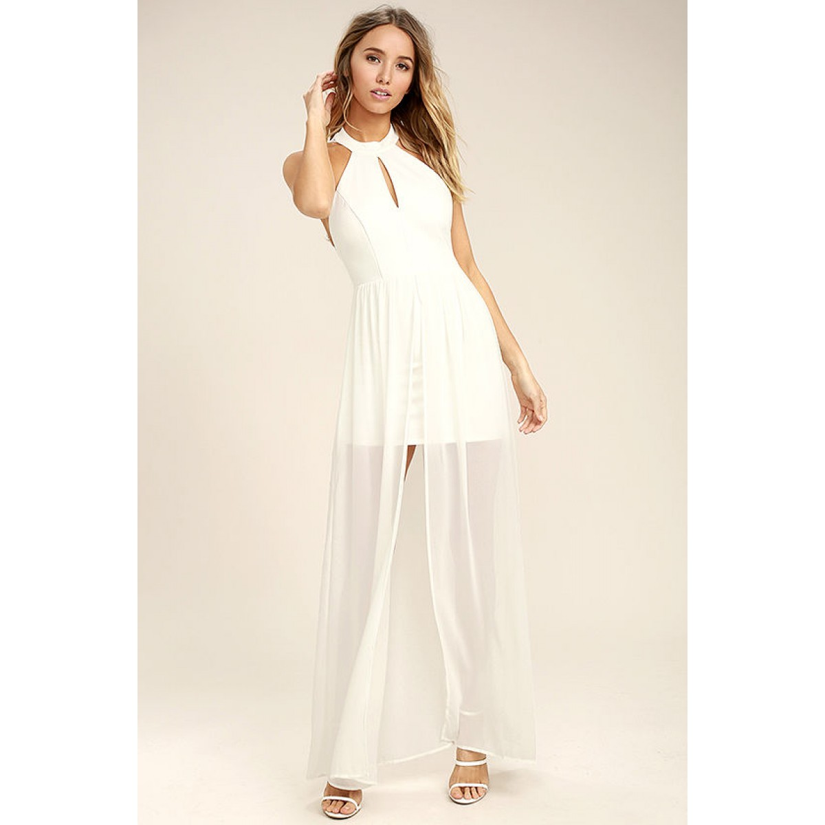 b0ae488b8b9 My Beloved White Lace Maxi Dress. Be the first to review this product