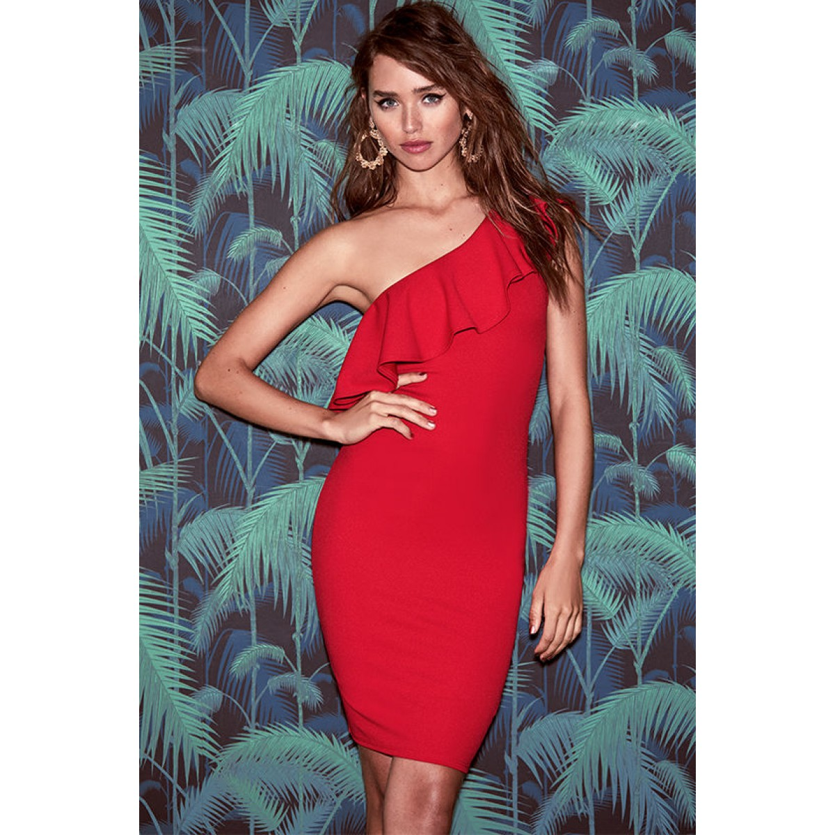 15a1fd4b543 Be the first to review this product.  46.00.  46.00Availability  In stock.  Life is But a Dream Red One-Shoulder Bodycon Dress
