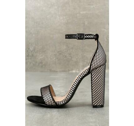 7a14aacd575 Adeline White Rhinestone Ankle Strap Heels
