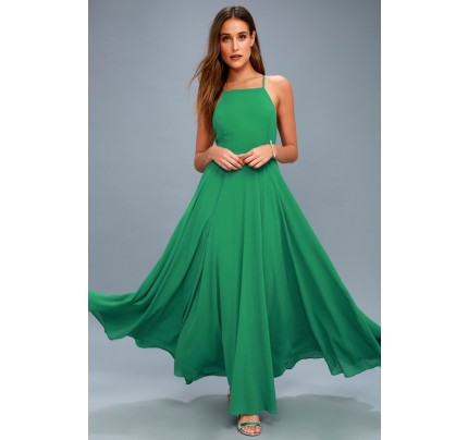 Mythical Kind of Love Green Maxi Dress - Lulus