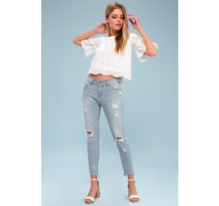 Distressed Jeans Black Distressed Jeans Distressed Jeans Womens